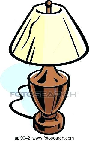 297x470 Clip Art Lamp Lampu Belajar Clipart