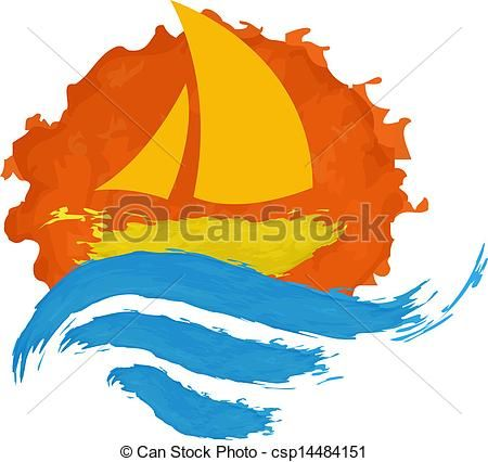 Seascape Clipart