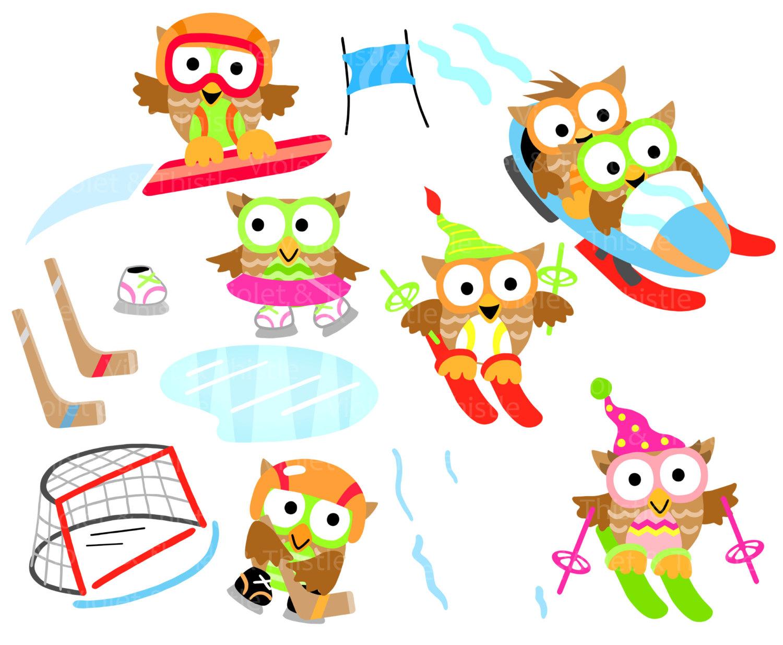 1500x1235 Seasons Owl Clipart Clip Art Buy 3 Get 1 Free Sale Winter Spring