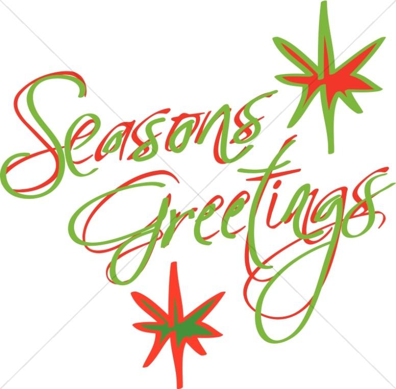 776x763 Abstract Seasons Greetings Christian Christmas Word Art