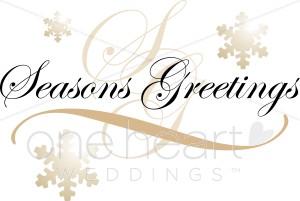 300x201 Seasons Greetings Clipart Christmas Wedding Clipart