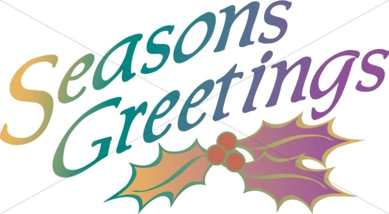 776x428 Seasons Greetings With Holly Christian Christmas Word Art
