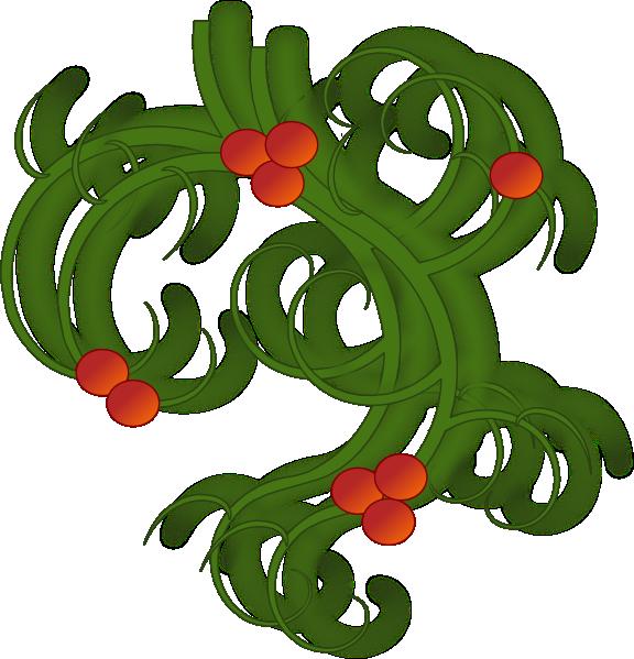 576x599 Christmas Swirls