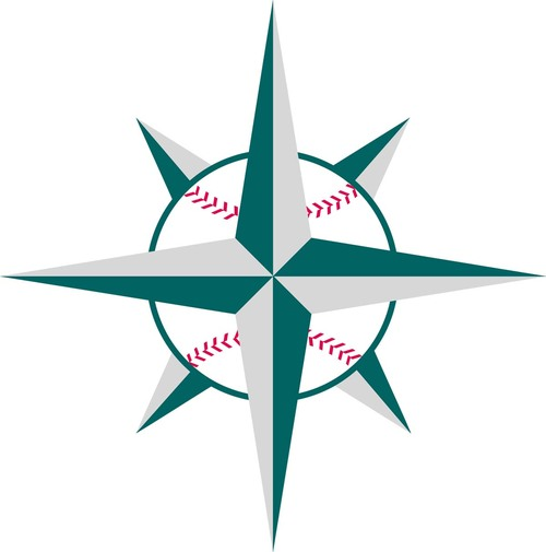 500x505 Seattle Mariners Compass Logo Free Image