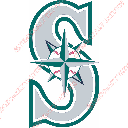 500x500 Seattle Mariners Customize Temporary Tattoos Stickers No.1909