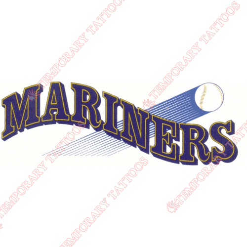 500x500 Seattle Mariners Temp Tattoos Customize Temporary Tattoos,kids