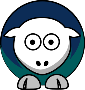 282x297 Sheep Seattle Mariners Team Colors Clip Art