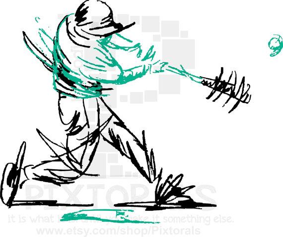 570x479 Baseball Softball Clip Art Of Batter's Swing! Png (Transparent