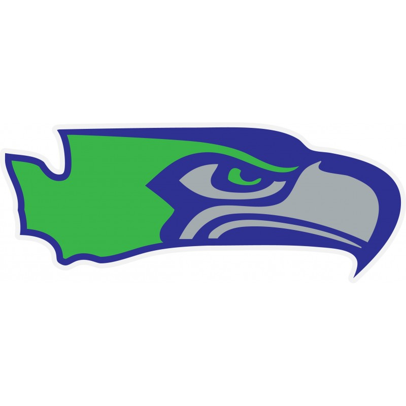 800x800 Seattle Seahawks + Washington State Sticker