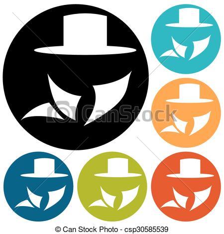 450x470 Man In Suit. Secret Service Agent Icon Vectors