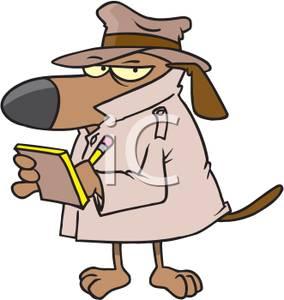 284x300 Secret Agent Dog