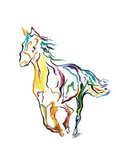 236x314 Kentucky Derby Horse Clip Art