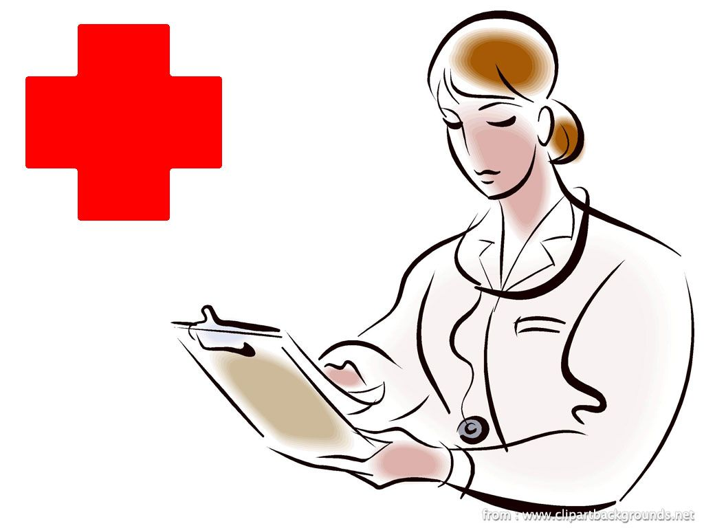 1024x768 Lady Nurse