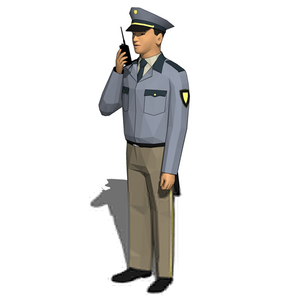 300x300 Clipart Of Security Guards Free Images