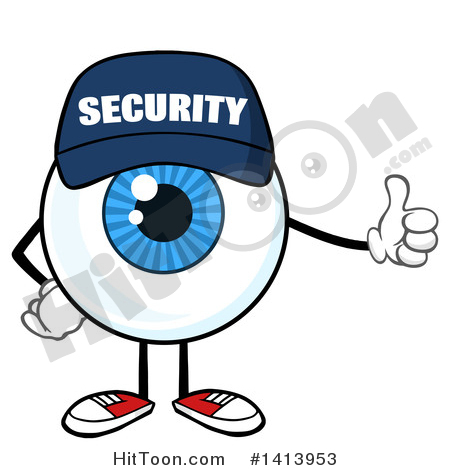 450x470 Security Guard Clipart