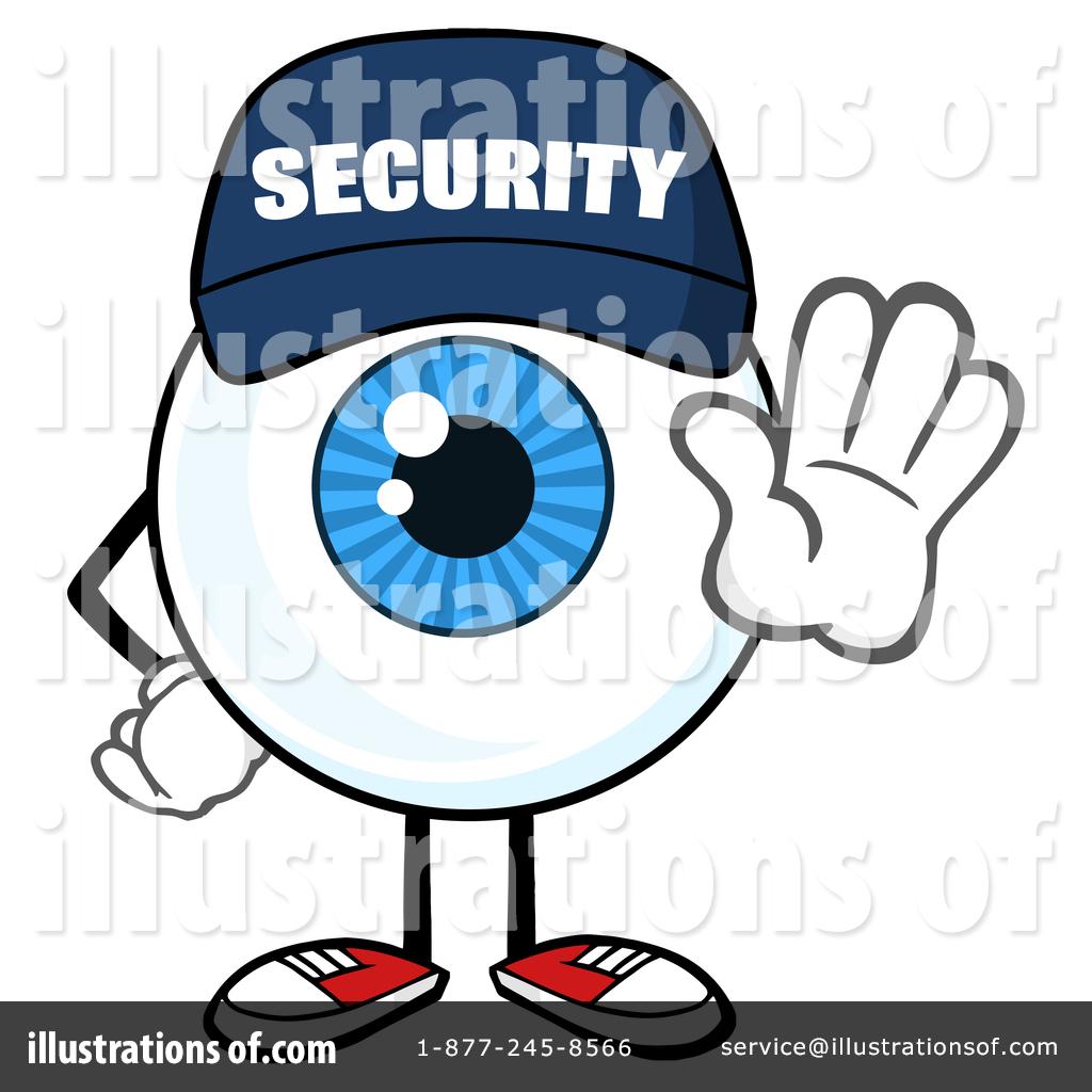 1024x1024 Security Guard Eyeball Clipart