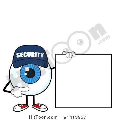 450x470 Security Guard Eyeball Clipart