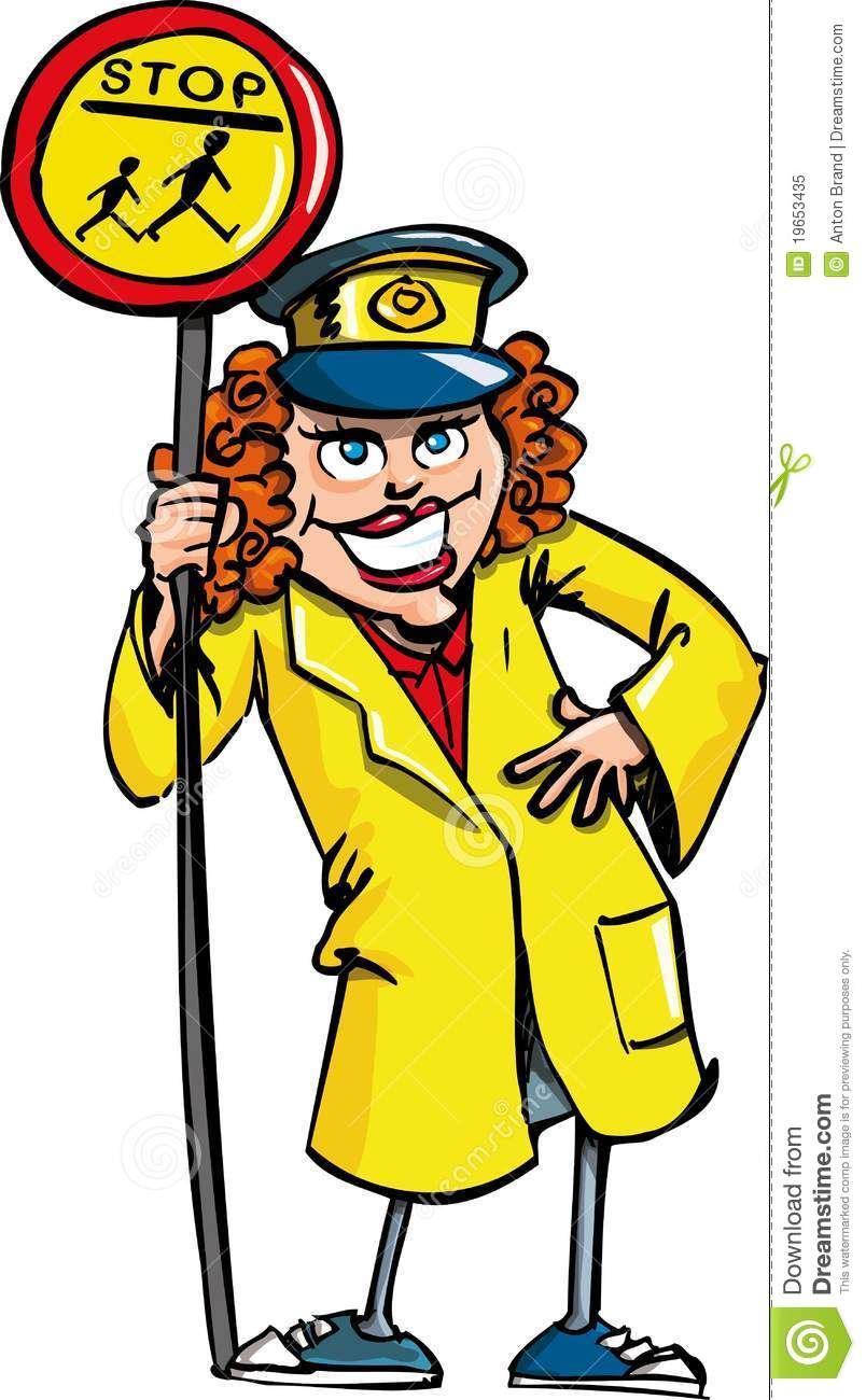 804x1300 Crossing Guard Clipart Free