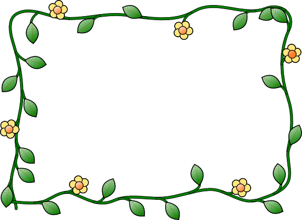 600x437 May Borders Clipart