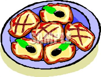 350x269 Clipart Of Plate Of Cookies