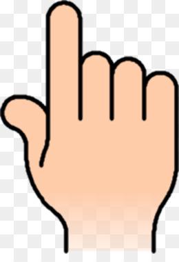 260x380 Index Finger Pointing Clip Art