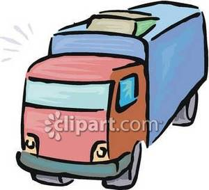 300x273 Semi Delivery Truck