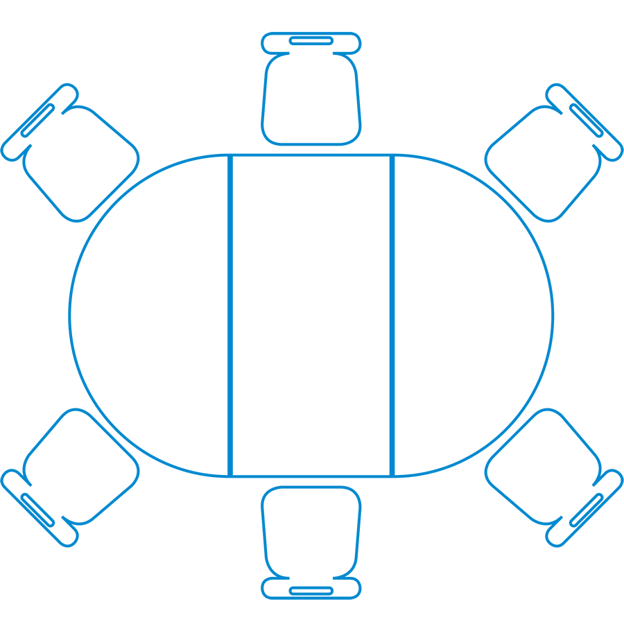 900x910 Table Clipart Semi Circle