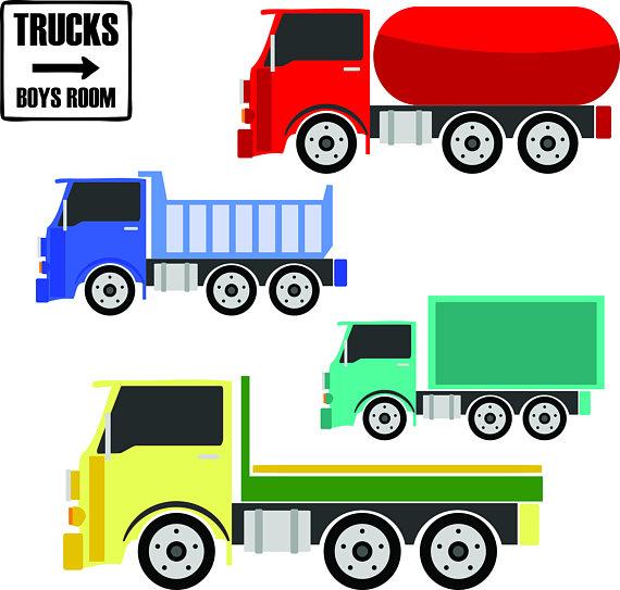 570x543 Toy Trucks Clipart Trucks Clipart Semi Truck Clipart Boys