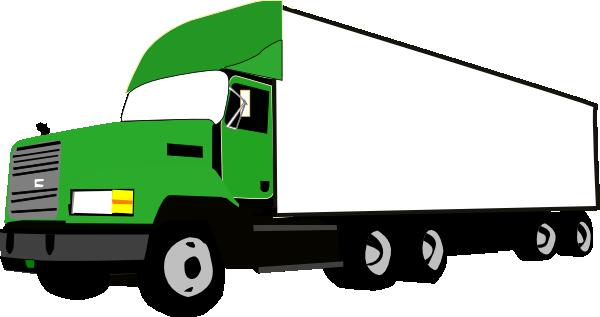 600x317 Truck Clip Art