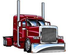 236x188 Truckin Art! Stuff To Buy Cartoon, Cars Toons And Cars
