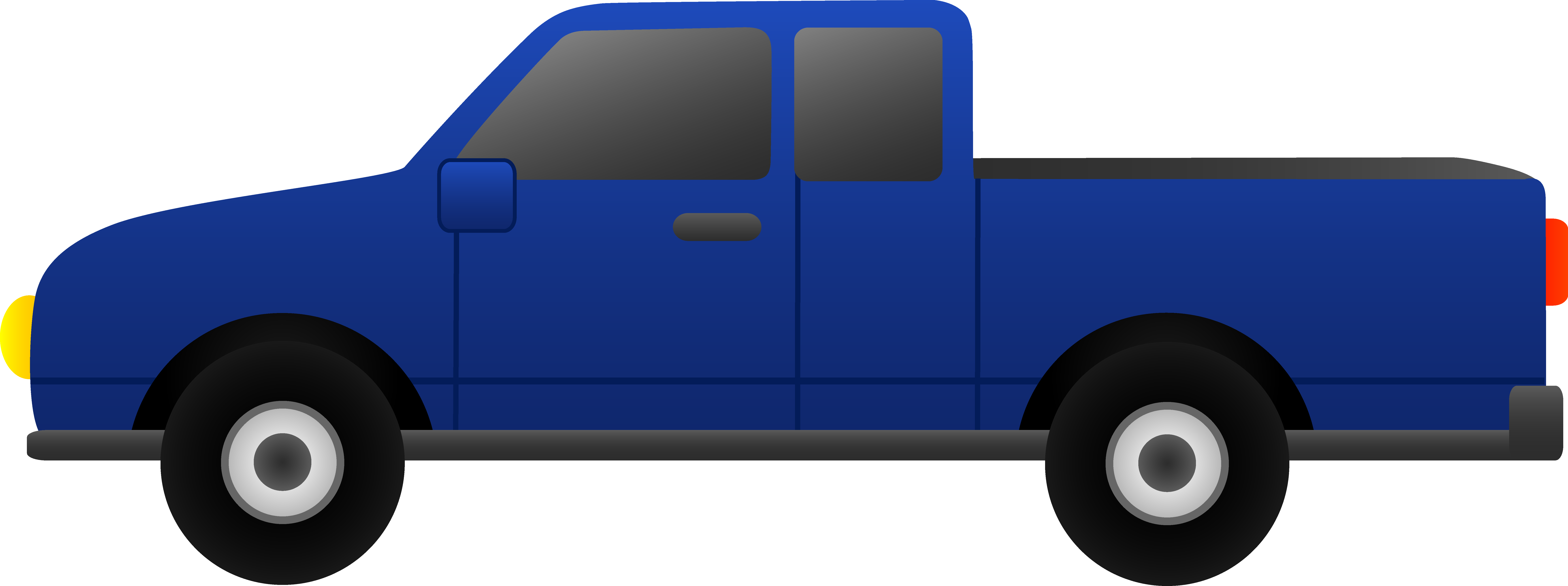 8576x3207 Free Animated Truck Clipart