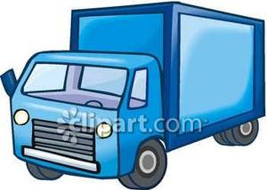 300x214 Camper Clipart Delivery Truck