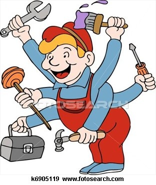 312x370 14 Best Handyman Logos Images On Art Clipart, Handyman