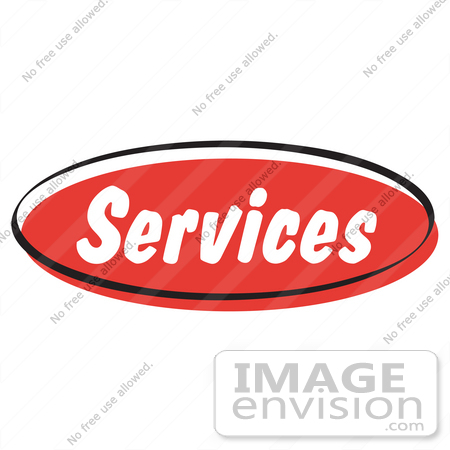 450x450 Royalty Free Cartoon Clip Art Of A Red Services Internet Website