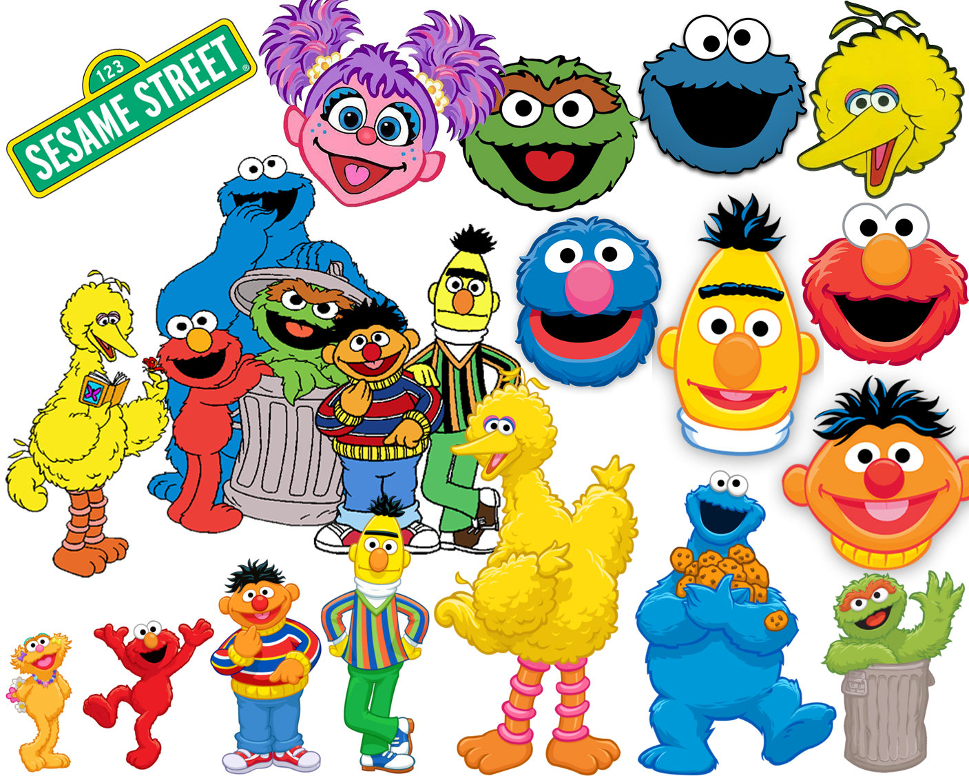 Sesame Street Birthday Clipart At Getdrawings Free Download