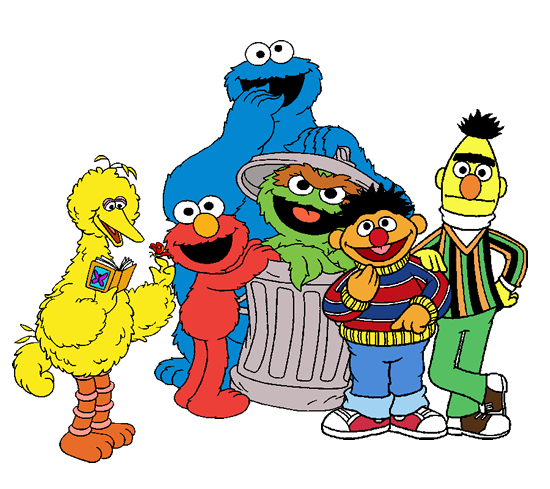 Sesame Street Clipart at GetDrawings.com | Free for personal use ...
