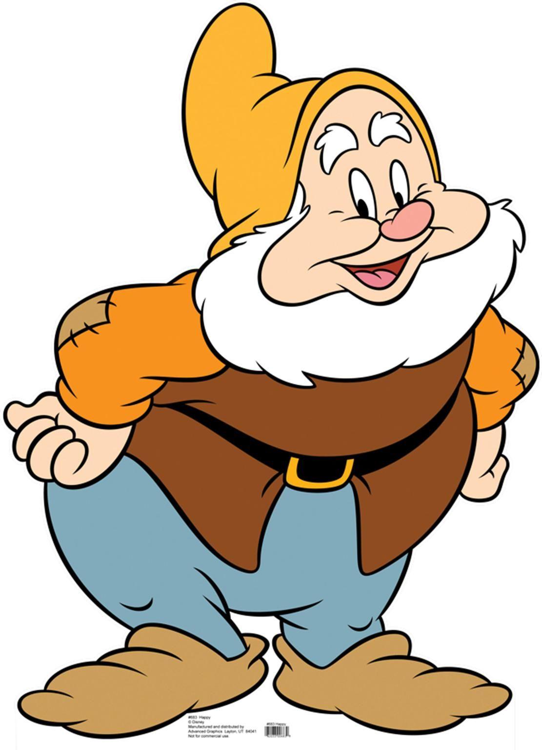 Seven Dwarfs Clipart
