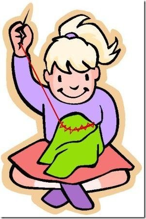301x452 Sewing Clipart