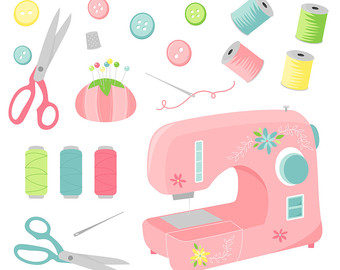 340x270 Sewing Clip Art Etsy