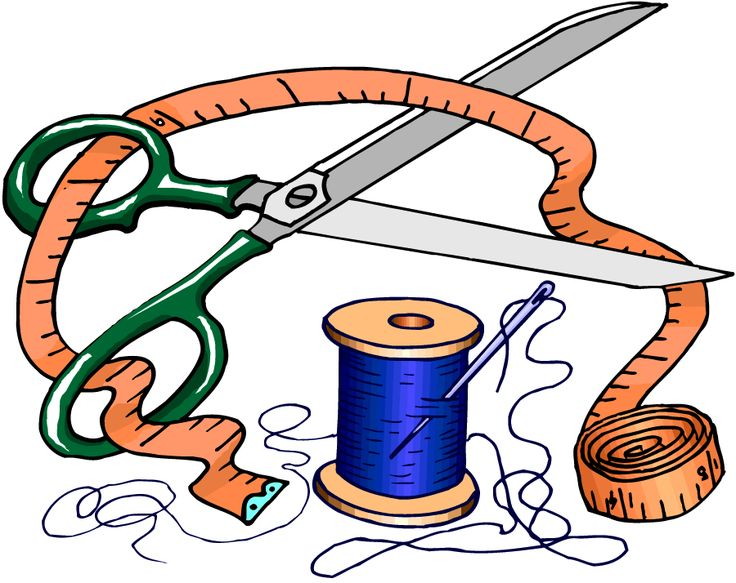 736x583 Sewing Clipart 23 Best Sewing Accessories Images