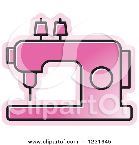 450x470 Royalty Free (Rf) Clipart Of Sewing Machines, Illustrations