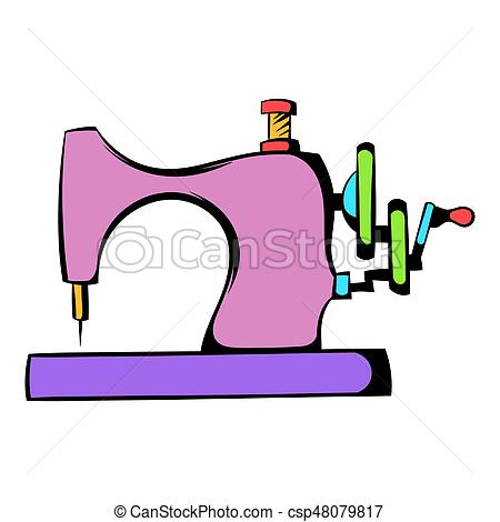 450x470 Sewing Machine Icon, Icon Cartoon. Sewing Machine Icon