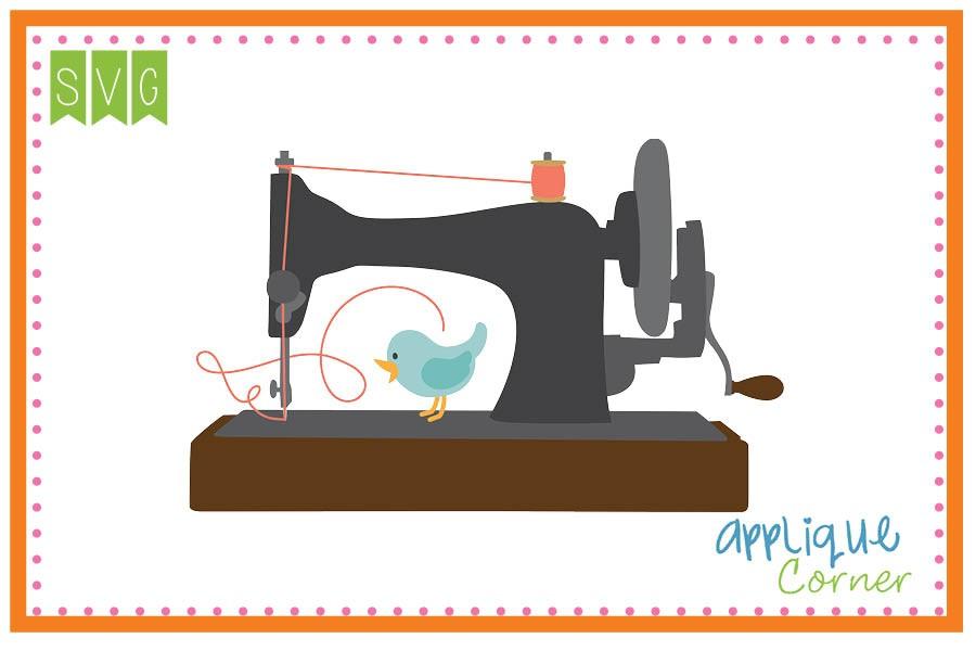 900x600 Applique Corner Sewing Machine Cuttable Svg Clipart