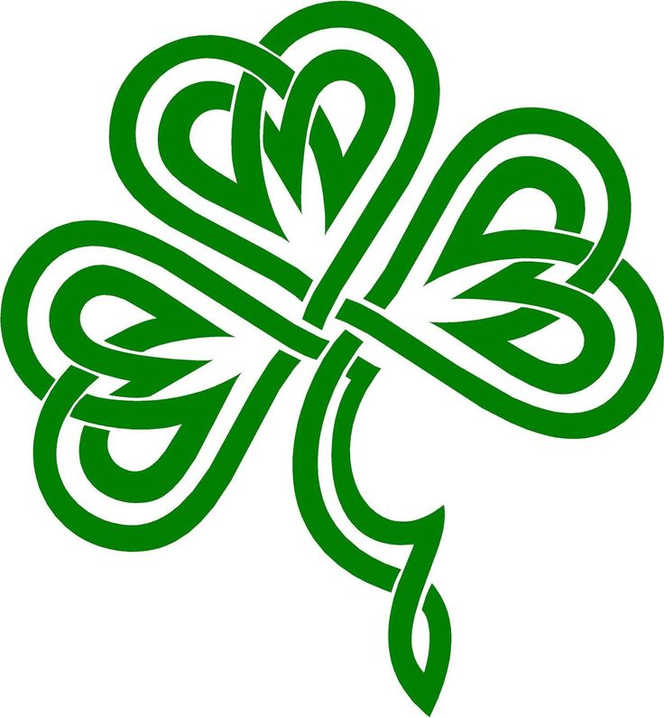 736x795 Collection Of Celtic Clover Clipart High Quality, Free