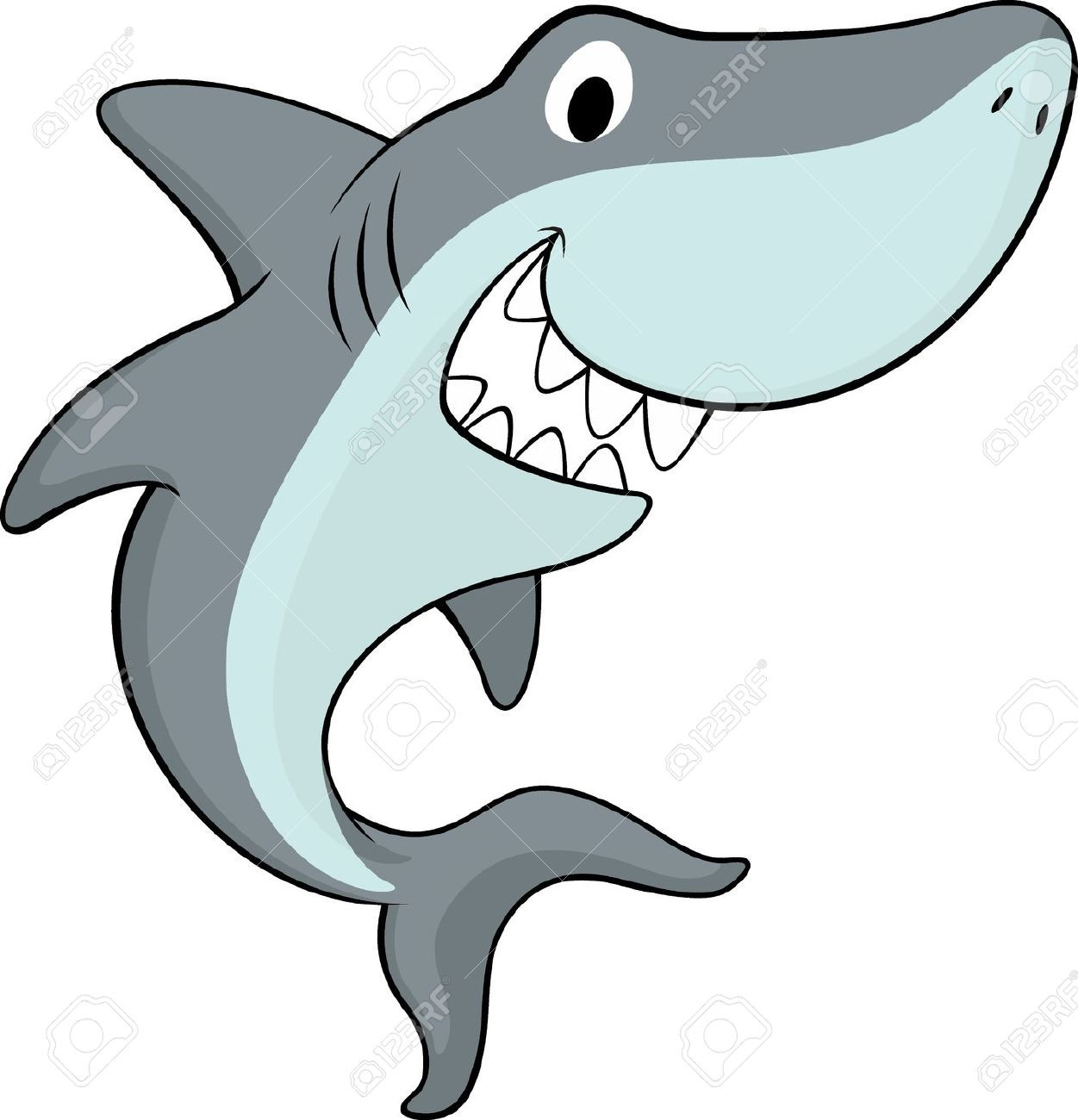 1251x1300 Friendly Shark Clipart Showy Clip Art Thatswhatsup