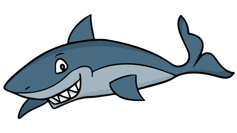 830x468 Image Of Shark Clipart