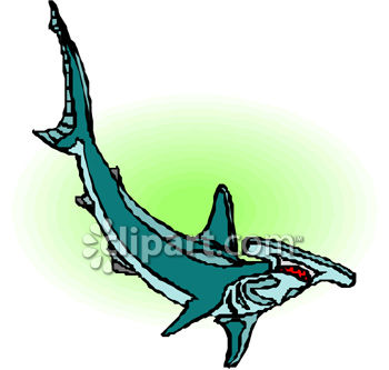 350x333 Royalty Free Clip Art Image Clip Art Image Of A Hammerhead Shark