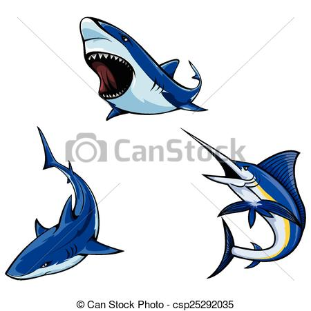 450x451 Shark Collection Vectors