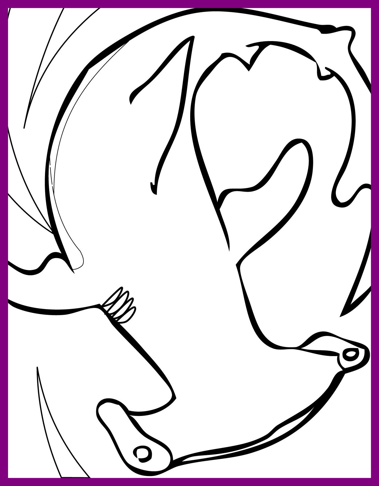1331x1706 Hammerhead Shark Coloring Pages