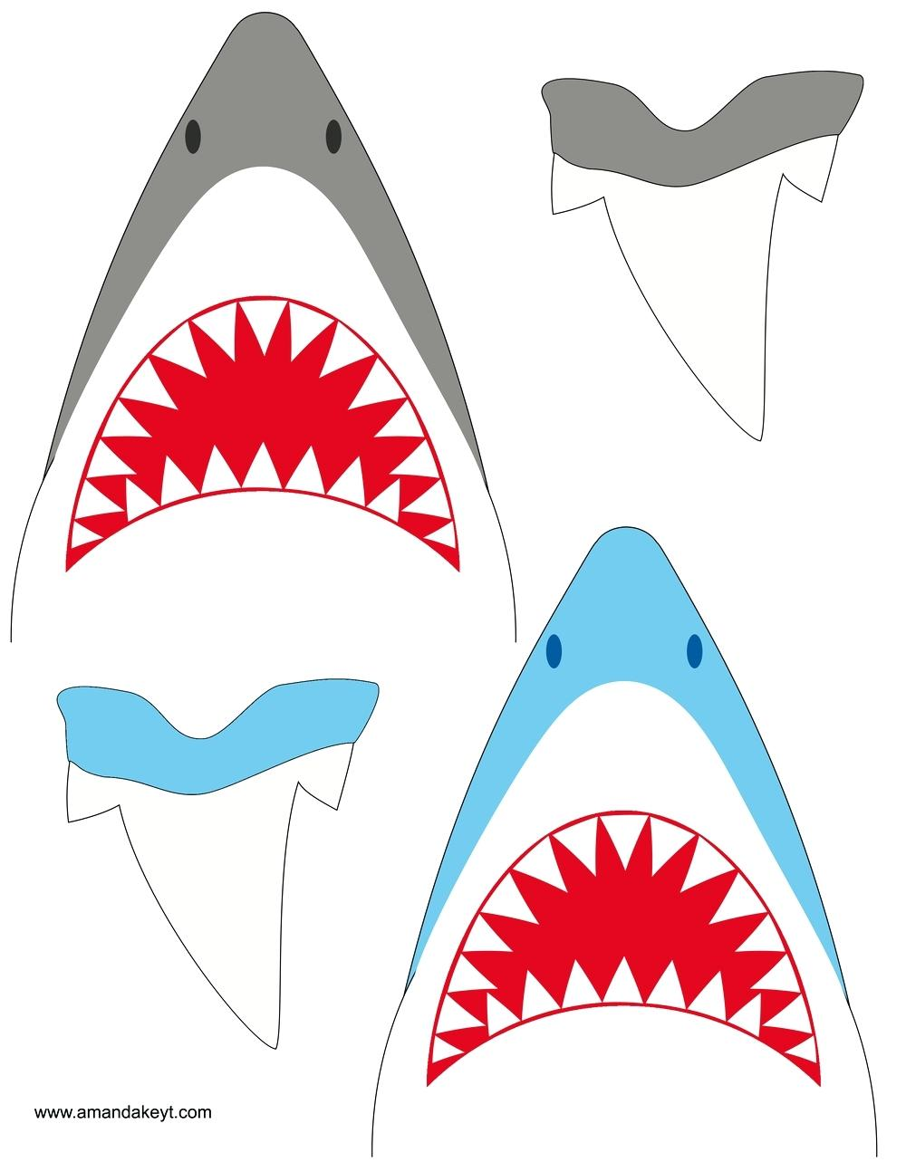 1000x1294 Instant Download Shark Jaws Red Inspired Printable Photo Booth